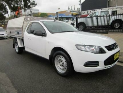 2013 Ford Falcon FG MkII White Auto Sports Mode 2D CAB CHASSIS Croydon Burwood Area Preview