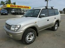 2000 Toyota Landcruiser VX Prado Silver 4 Speed Automatic Wagon Reynella Morphett Vale Area Preview