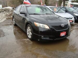 2007 Toyota Camry SE Accident Free Leather & Sunroof