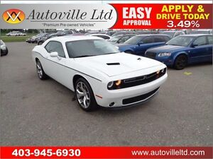 2015 Dodge Challenger SXT Plus Leather B camera Fully Loaded