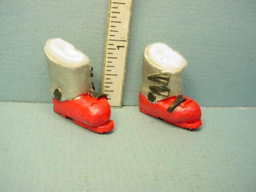 Miniature Ski Boots - #G18 (Non-wearable) All Through The House
