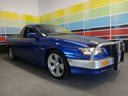 2006 Holden Commodore VZ MY06 SS Thunder Bermuda Blue Pearl 4 Speed Automatic Utility Wangara Wanneroo Area Preview