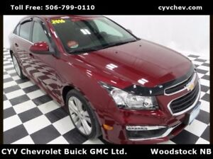 2016 Chevrolet Cruze Limited 2LT w/RS Package - 0.9% - Sunroof,