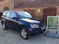 08 SUZUKI GRAND VITARA 2.0 5 DOOR, 4X4, 37,000 MILES, 1 LADY OWNER + SUZUKI, THE RETFORD CAR COMPANY