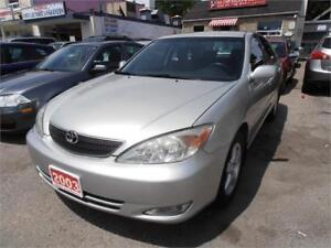 2003 Toyota Camry LE Grey Auto Only 150,000km