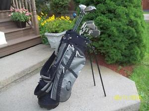 Men's Right Hand 12-pc Golf Clubs Set (Spalding Augusta Tour) and Bag