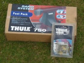 Thule 750 Rapid System Foot Pack and Thule 596