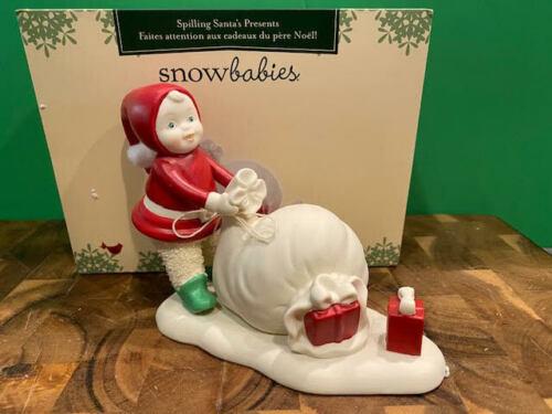Dept 56 Snowbabies - Spilling Santa