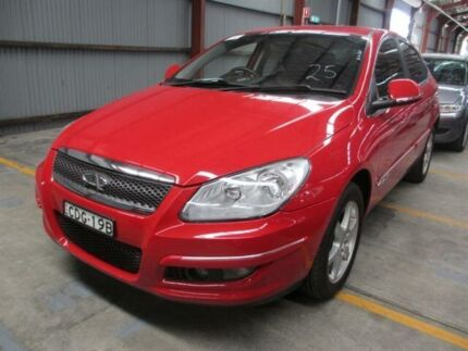 2011 Chery J3 M1X M1X Red 5 Speed Manual Hatchback Warabrook Newcastle Area Preview