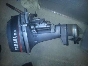 Yamaha 9.9 Outboard Boat Engine Motor