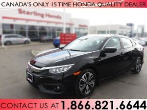 2016 Honda Civic EX-T | 1 OWNER | NO ACCIDENTS | TURBO