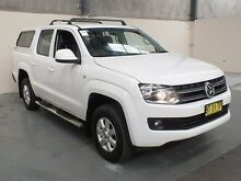 2014 Volkswagen Amarok 2H MY13 TDI400 Trendline (4x4) White 6 Speed Manual Dual Cab Utility Gateshead Lake Macquarie Area Preview