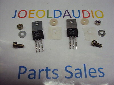 Transistors 2sc1096. 2 Pcs. Matched Pair. Pulled Part. Tested With Curve Tracer.