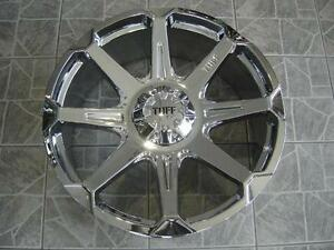 """Kit roues de mag avec pneus neufs 24"""" #M02"""
