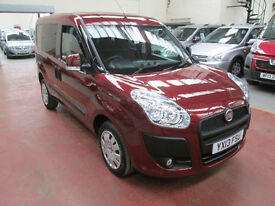 13 Fiat Doblo 1.4 16v Freedom WHEELCHAIR ADAPTED DISABLED OVER 60 CARS IN STOCK
