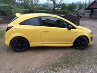 Vauxhall Corsa Ltd Edt,Low milage