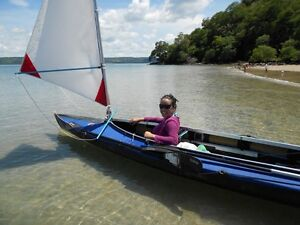 Portable Folding DOUBLE Kayak with Sails