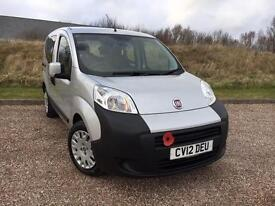 Fiat Qubo 1.3 Multijet 75 Active 2012 *ONLY 26,200 MILES, FULL S/HISTORY*