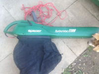 Leaf Blower -Qualcast TurboVac 1100w 4 settings - blows and hoovers Collect Clanfield