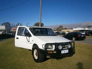 1998 Holden Rodeo LX 4X4 3652 White 5 Speed Manual Dual Cab Maddington Gosnells Area Preview