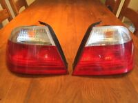 BMW E46 Coupe Pre Facelift Rear Tail Lights left & right pair