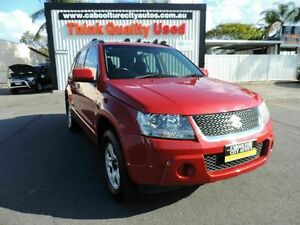 2008 Suzuki Grand Vitara JB MY09 Red 4 Speed Automatic Wagon Caboolture South Caboolture Area Preview