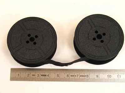 Farbband f. Schreibmaschine DIN32755 Doppelspule 13mm breit - schwarz Gr.1