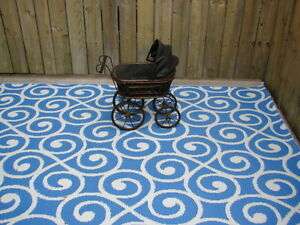 German baby doll stroller carriage