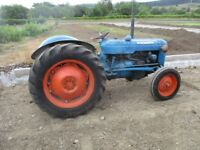 Fordson Dexta Tractor 3 cyl diesel- can deliver