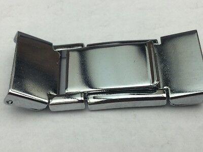 Watch Bracelet  Clasp Stainless Steel 15MM STEEL
