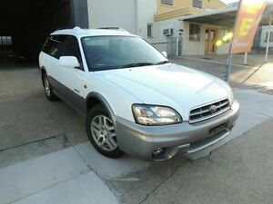 2003 Subaru Outback B4A MY04 D/Range AWD White 5 Speed Manual Wagon Yeerongpilly Brisbane South West Preview