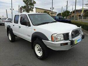 2005 Nissan Navara D22 S2 DX Polar White 5 Speed Manual Dual Cab Southport Gold Coast City Preview