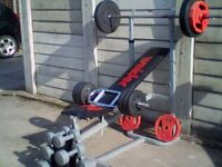 £69**FREE DELIVERY**FREE DELIVERY**FREE DELIVERY.WEIGHTS.PLATES.DUMBELLS.BENCH**FREE DELIVERY !!