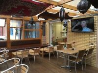 Lebanese restaurant and shisha lounge for sale