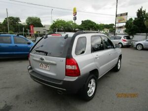 2007 Kia Sportage KM LX (FWD) Silver 4 Speed Tiptronic Wagon Coorparoo Brisbane South East Preview
