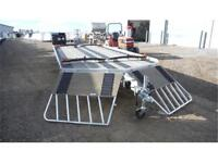 4-Place Drive-On/Drive-Off ALL-ALUMINUM Toy Hauler *TAXES IN*