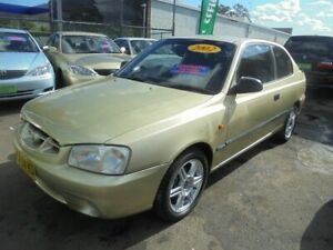 2002 Hyundai Accent LC GL Champagne Gold 4 Speed Automatic Hatchback Punchbowl Canterbury Area Preview