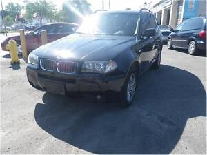2006 BMW X3 3.0i (one owner)