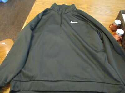 Mens XXL Nike 1/4 zip Therma training pullover AQ5253 010.  BEST