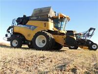 """3 WORLD RECORD NEW HOLLAND CR9090 """"Z"""", 591 HP TIER 3 COMBINES"""