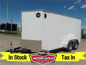 "New 7 X 16 VG-300 Series w/ Barn Doors, 78"" Interior!!"