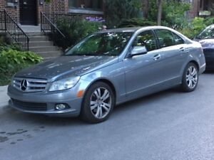 Mercedes C300 4matic luxury 2008