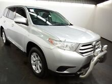 2011 Toyota Kluger GSU45R MY11 Upgrade KX-R (4x4) 5 Seat Silver Pearl 5 Speed Automatic Wagon Albion Brimbank Area Preview