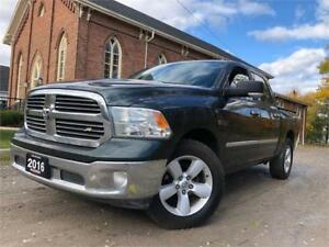 2016 Ram 1500 SLT - ECODIESEL+4X4+CREWCAB+CERTIFIED+FINANCE