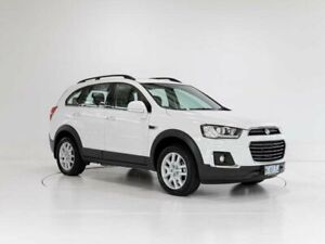 2017 Holden Captiva CG MY17 Active 2WD White 6 Speed Sports Automatic Wagon Glenorchy Glenorchy Area Preview