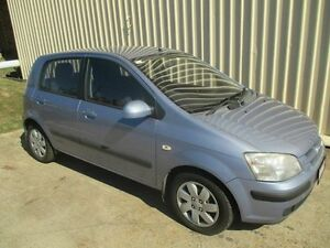 2004 Hyundai Getz TB MY04 GL Blue 5 Speed Manual Hatchback Kippa-ring Redcliffe Area Preview