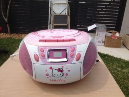CD/Tape/Radio Hello Kitty Kirrawee Sutherland Area Preview
