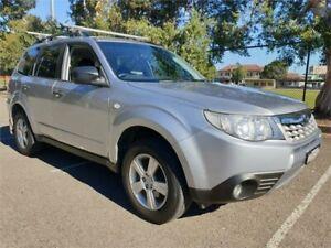 2012 Subaru Forester MY12 X Silver 5 Speed Manual Wagon Granville Parramatta Area Preview