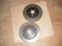 Audi rs4 b7 front brake discs-minimal wear 34mm pair