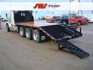 New 8.5x24' HD Deck w/ramps Edmonton Edmonton Area image 1